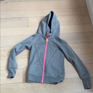 Ivviva(lululemon girls) hoodie gray size 8